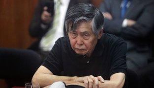 Declaran improcedente hábeas corpus que buscaba libertad de Alberto Fujimori
