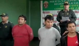 SJL: capturan a tres delincuentes que asaltaron veterinaria