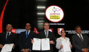 Ministerio de Cultura y clubes deportivos se unen en contra del racismo en el fútbol