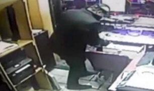 San Borja: asaltan casino y se llevan 40 mil soles