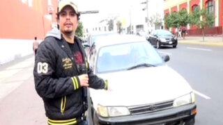 """Andy """"V"""" en busca de los conductores más imprudentes de Lima"""