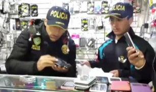 Cusco: PNP incauta cerca de mil teléfonos  celulares de dudosa procedencia