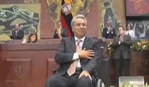 Lenín Moreno fue presentado oficialmente como presidente de Ecuador