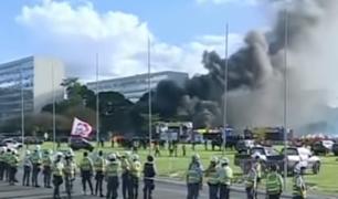 Brasil: protestas contra Michel Temer ocasionan incidentes en Brasilia