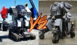 EE.UU. y Japón se enfrentarán en la primera pelea de robots gigantes de la historia