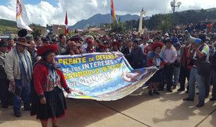 Cusco: Frente de Defensa de Chinchero anuncia huelga indefinida