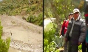 Cerro de Pasco: empresario desaparece en río por tomarse fotografía