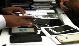 PNP intensifica operativos para combatir robo de celulares