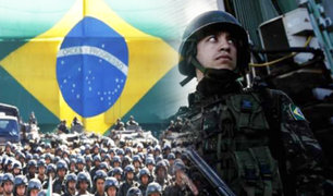 Brasil: Presidente Michel Temer retira ejercito de Brasilia
