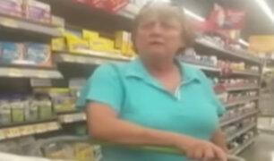 Estados Unidos: mexicana es víctima de discriminación en conocido supermercado