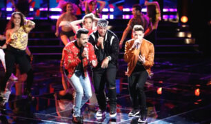 Luis Fonsi y Daddy Yankee causan furor en la final de 'The Voice'