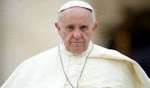 Papa Francisco pide consuelo para damnificados por desastres naturales