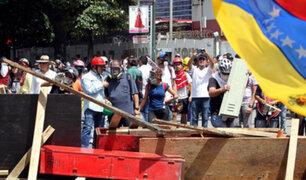 Venezuela: oposición pide a militares retirar apoyo a presidente Maduro