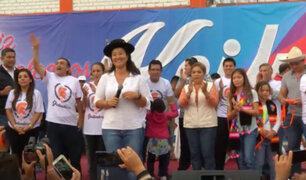 Keiko Fujimori: Tenemos la esperanza de que Alberto Fujimori pronto estará libre