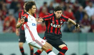 Flamengo igualó 1-1 ante Paranaense por fecha tres del Brasileirao