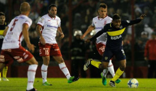 Argentina: Boca Juniors empató 1-1 ante Huracán