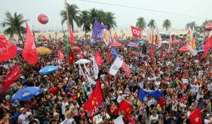 Brasil: miles de manifestantes exigen renuncia de presidente Michel Temer