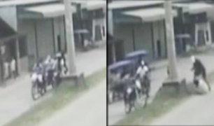 Pucallpa: asaltan a trabajadores y les arrebatan 2 mil soles