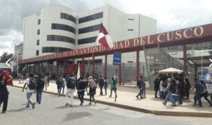 Cusco: universitarios retienen casi 30 vehículos por alza de pasajes