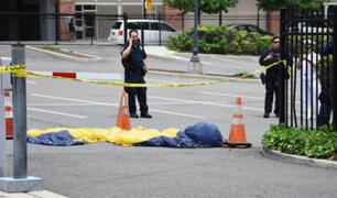 EEUU: paracaidista militar muere durante una demostración sobre el río Hudson
