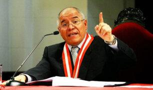CNM no investigará a César San Martín por fallo del caso Madre Mía