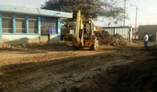 Áncash: inician labores de limpieza y reparación en hospital de Huarmey