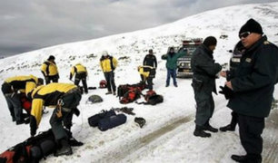 Arequipa: turista estadounidense es rescatada en volcán Misti