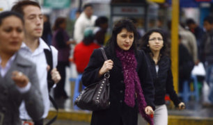 Temperatura en Lima seguirá bajando en los próximos días