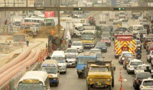 Tráfico infernal: obras viales en el Derby han ocasionado congestión vehicular