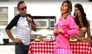 Xoana Gonzales sorprende por su peculiar forma de cocinar