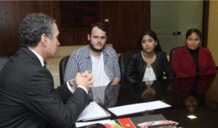 Ministro de Cultura ofreció respaldo a jóvenes agredidos en parque de San Isidro