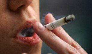 OMS: siete millones de personas mueren al año por consumo de tabaco
