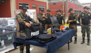 Marina de Guerra del Perú recibe equipos antidrogas valorizados en 691 mil dólares