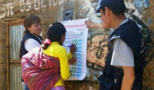 ONPE: realizan capacitaciones en quechua y castellano a electores