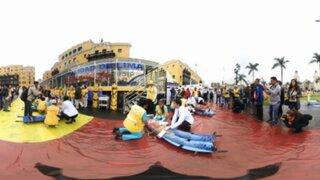 Panamericana te muestra el Simulacro Nacional de Sismo en impresionante video 360