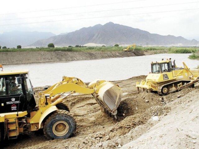 Ley que declara de interés nacional construcción de defensas ribereñas fue publicada en El Peruano