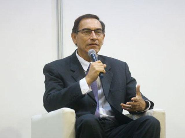 Martín Vizcarra: Amenazas a contralor deben sancionarse ejemplarmente