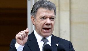 Colombia: Odebrecht confirma pago de US$ 1 millón a campaña de Juan Manuel Santos