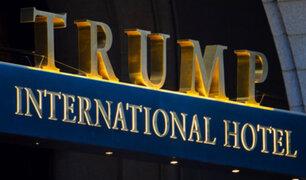 Washington: arrestan a hombre en hotel de Donald Trump con dos armas