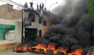 Violento desalojo deja heridos y detenidos en Trujillo