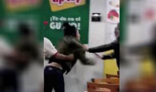 Miraflores: extranjera agrede a administradora de restaurante para no pagar la cuenta