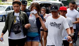 Filipinas: 36 heridos fue el saldo que dejó atentado a exclusivo hotel en Manila