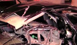 Piques ilegales en San Borja dejaron dos heridos