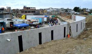 Comerciantes protestan por construcción de muro en la frontera Perú-Ecuador