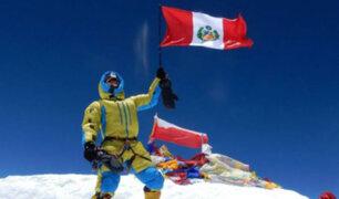 Víctor Rímac regresó al Perú tras conquistar el monte Everest