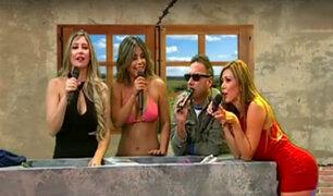 """""""La Noche es Mía"""" estrenó divertido segmento y tuvo de invitadas a estas bellas modelos"""