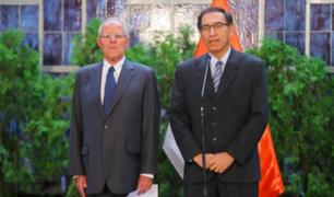 Encargarán despacho de la presidencia a Vizcarra por viaje de Pedro Pablo Kuczynski