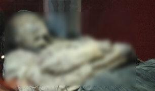 México: momia encadenada causa pánico en museo de Guanajuato