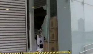 San Borja: asaltantes se llevaron más de 5 mil soles de tienda de productos electrónicos