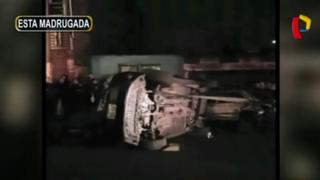 Comas: sujetos en presunto estado de ebriedad provocan aparatoso accidente vehicular
